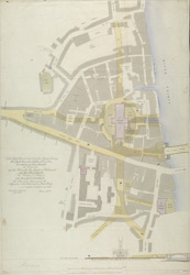 [Plan for the improvement of the approaches on the south side of New London Bridge] part B0